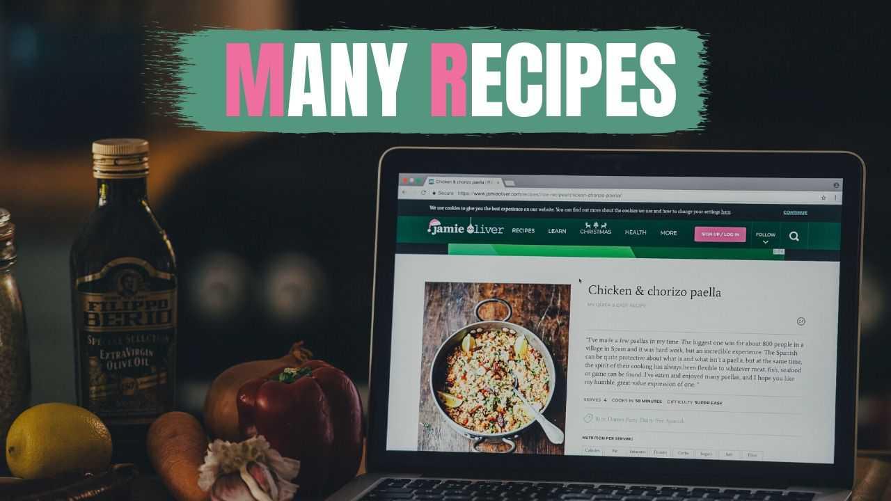 いろいろなレシピを習得したい