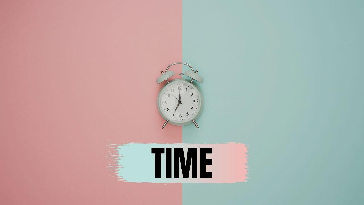 時間は有限である