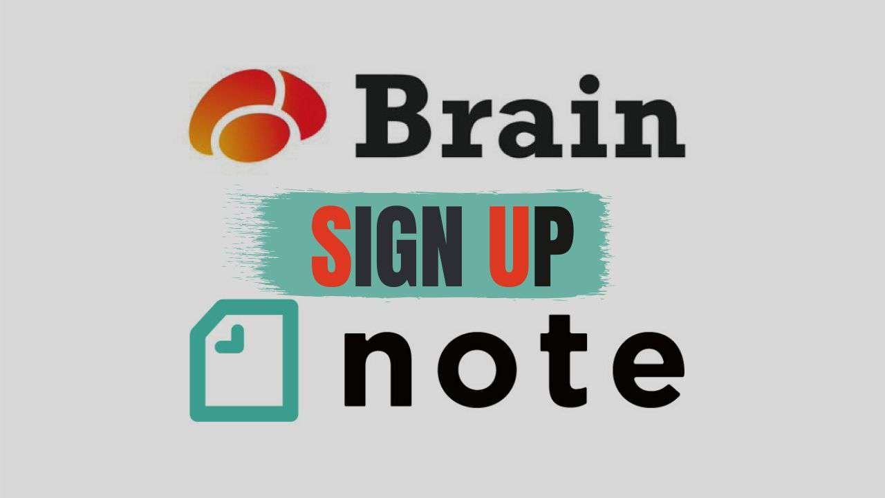 note or Brainから入会する