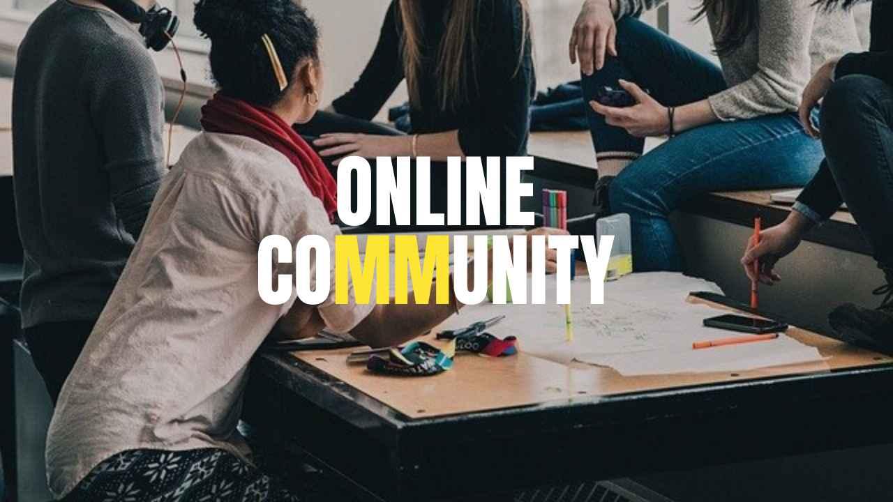 オンラインコミュニティー「&we」