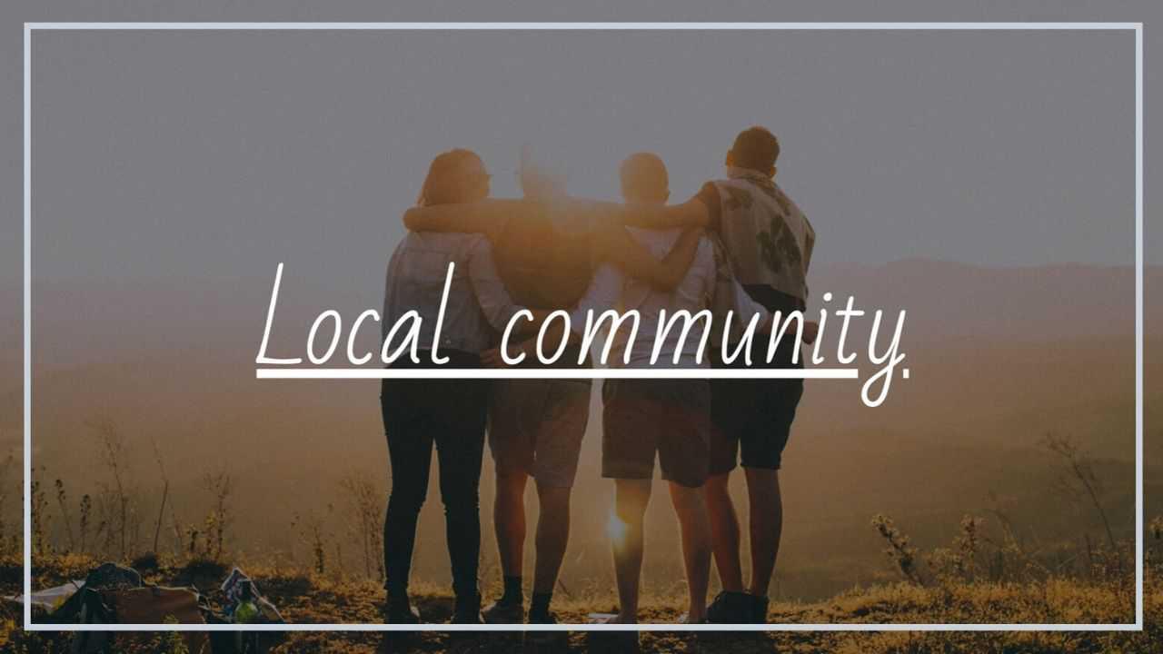 地方コミュニティ